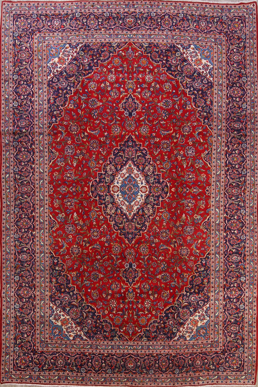 Fl 10x14 Kashan Persian Area Rug