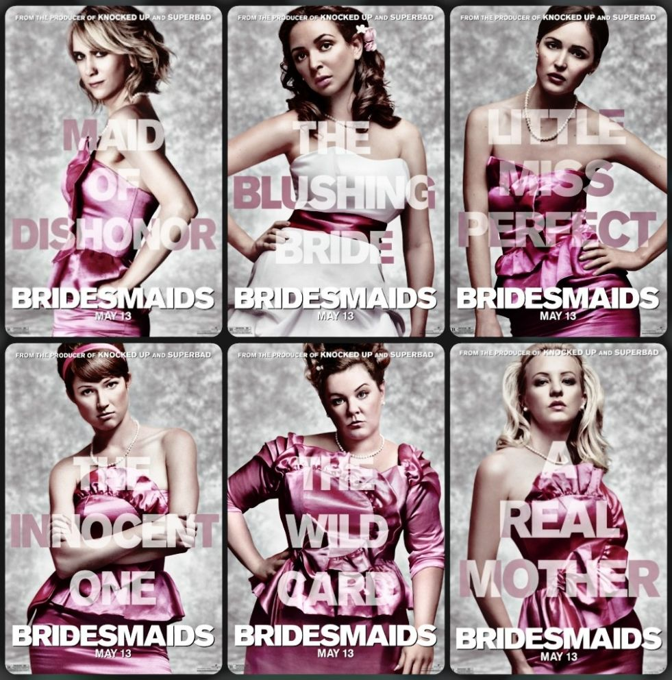 @Juli Shonfelt @Tori Spidel y'all hear this? Bridesmaid Movie Poster hahaha. got to do this for Kirstie's wedding