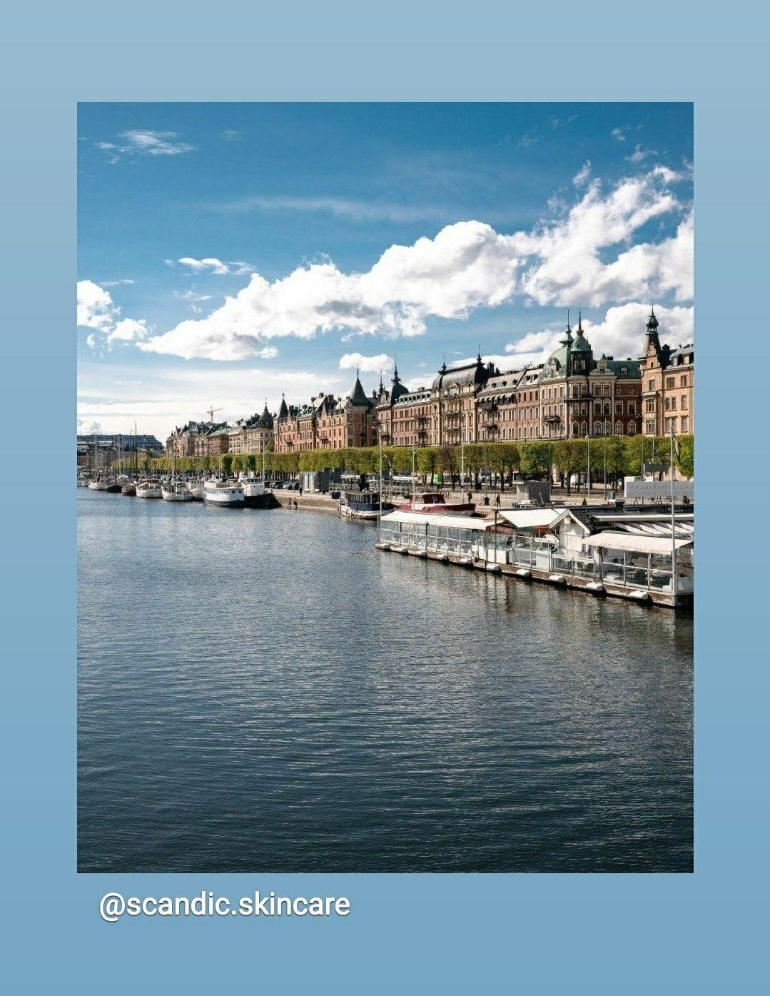 We'll be where the waters and sunshine are. 🌊  Via @visitstockholm . . . #scandic #scandicbeauty #sbeauty #crueltyfreebeauty #womanowned #glutenfree #scandicskincare #swedishskincare #sourcedinsweden #swedishbeauty #visitstockholm #travelpicsdaily #waterside #travelphotography📷 #travel_capture #phototravel #happyplaces