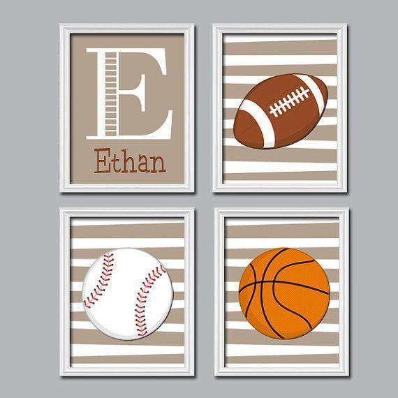 Sports Baby Boy Nursery Ideas: Pin On Sports Themed Nursery