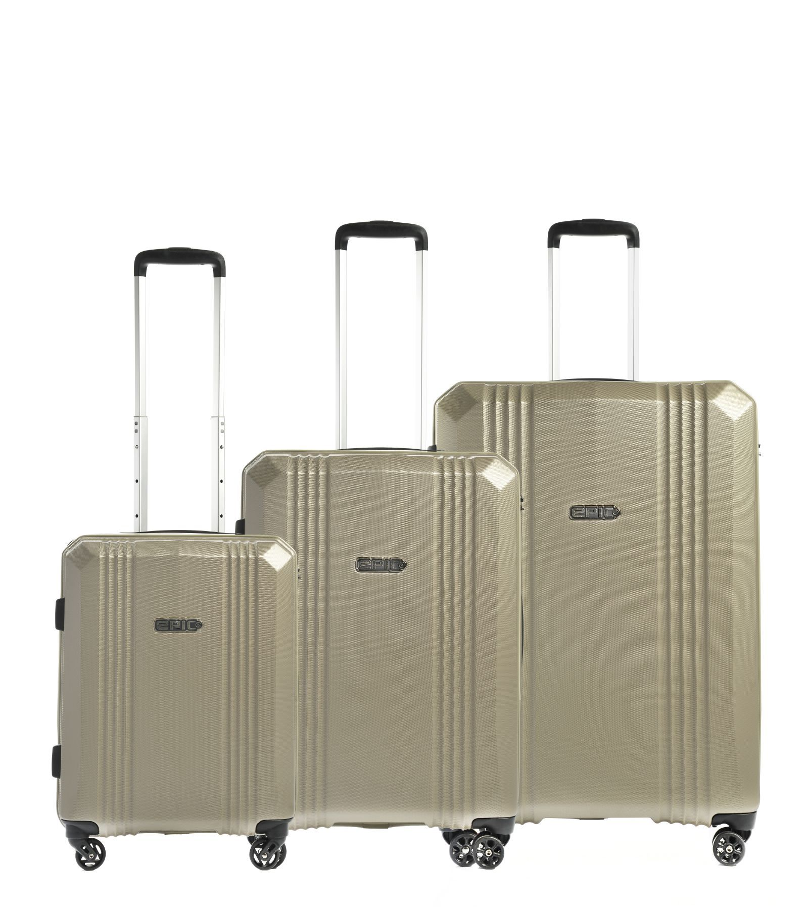 epic AirWAVE 3-Set Trolley 75/65/55cm 4W Cava
