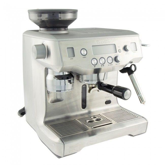 Breville Oracle Espresso Machine Bes980xl Espresso Espresso Machine Best Espresso Machine