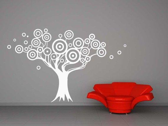 Target Tree, Bulls Eye, Bullseye Decal, Vinyl, Sticker, Kids Bedroom ...