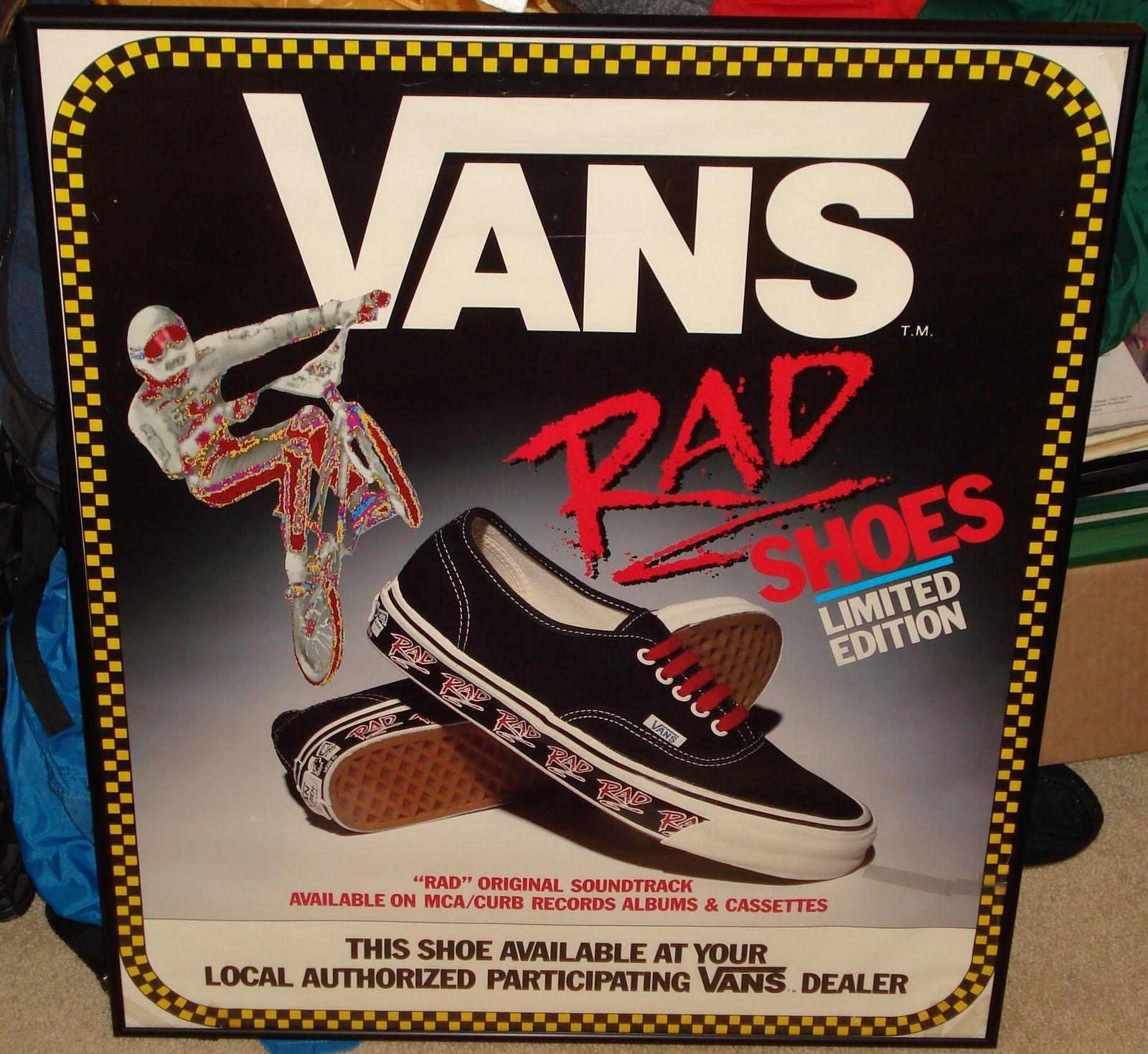 80s stuff | picked up this cool vintage mid 80 s rad vans