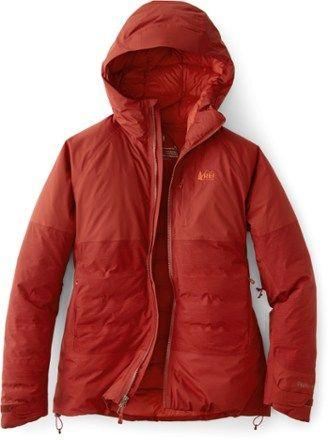 rei down jacket womens