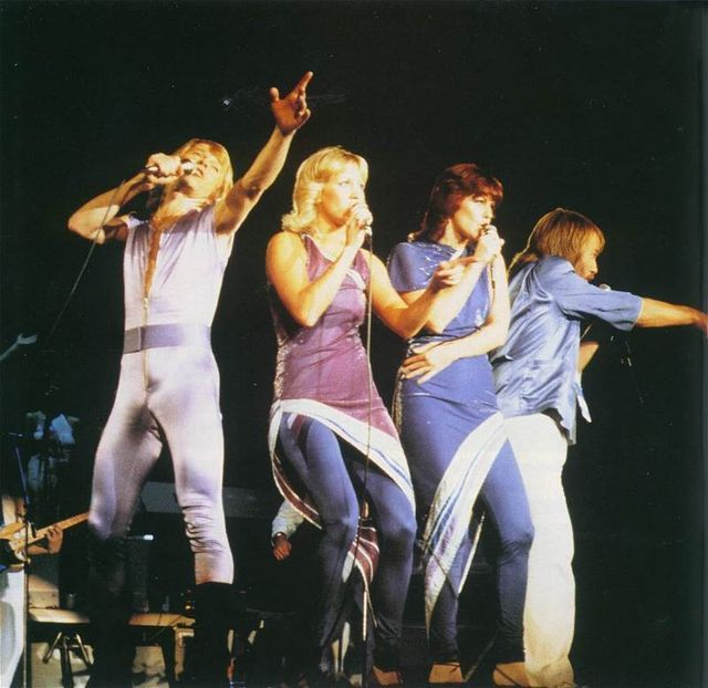 ABBA 1979 TOUR: 1979agnethafridastage