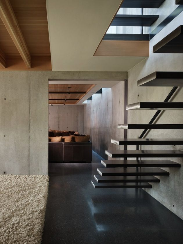 Located in the West Seattle district of the city is Lawrence Architects' finished product that includes an almost 4,000 square foot home