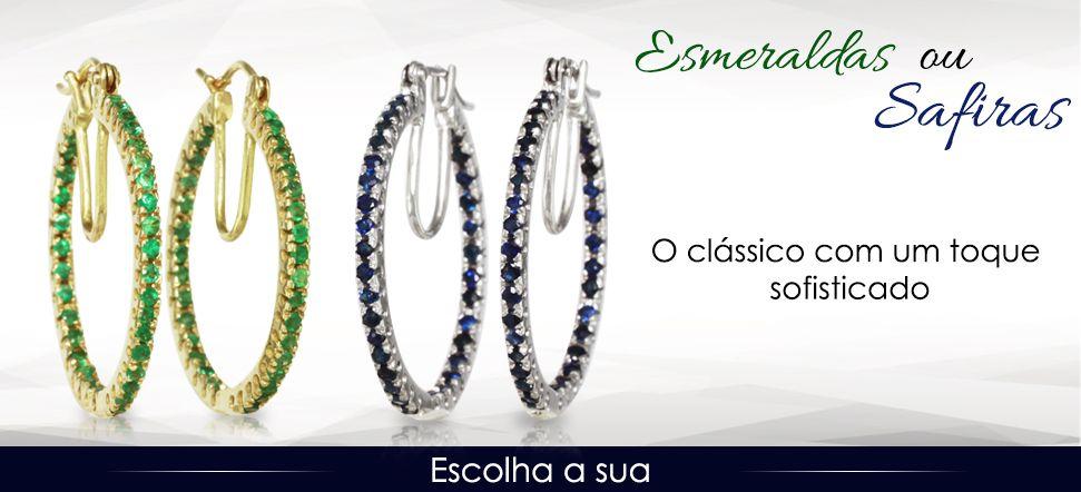 91f00b01e8550 Joias - TV Shopping Brasil - Joias em Ouro e Prata. Anel, brincos e ...