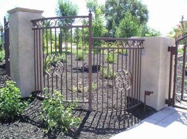 Elegant Ornamental Iron Fence Panels And Ornamental Iron Fence Tulsa Teknologi