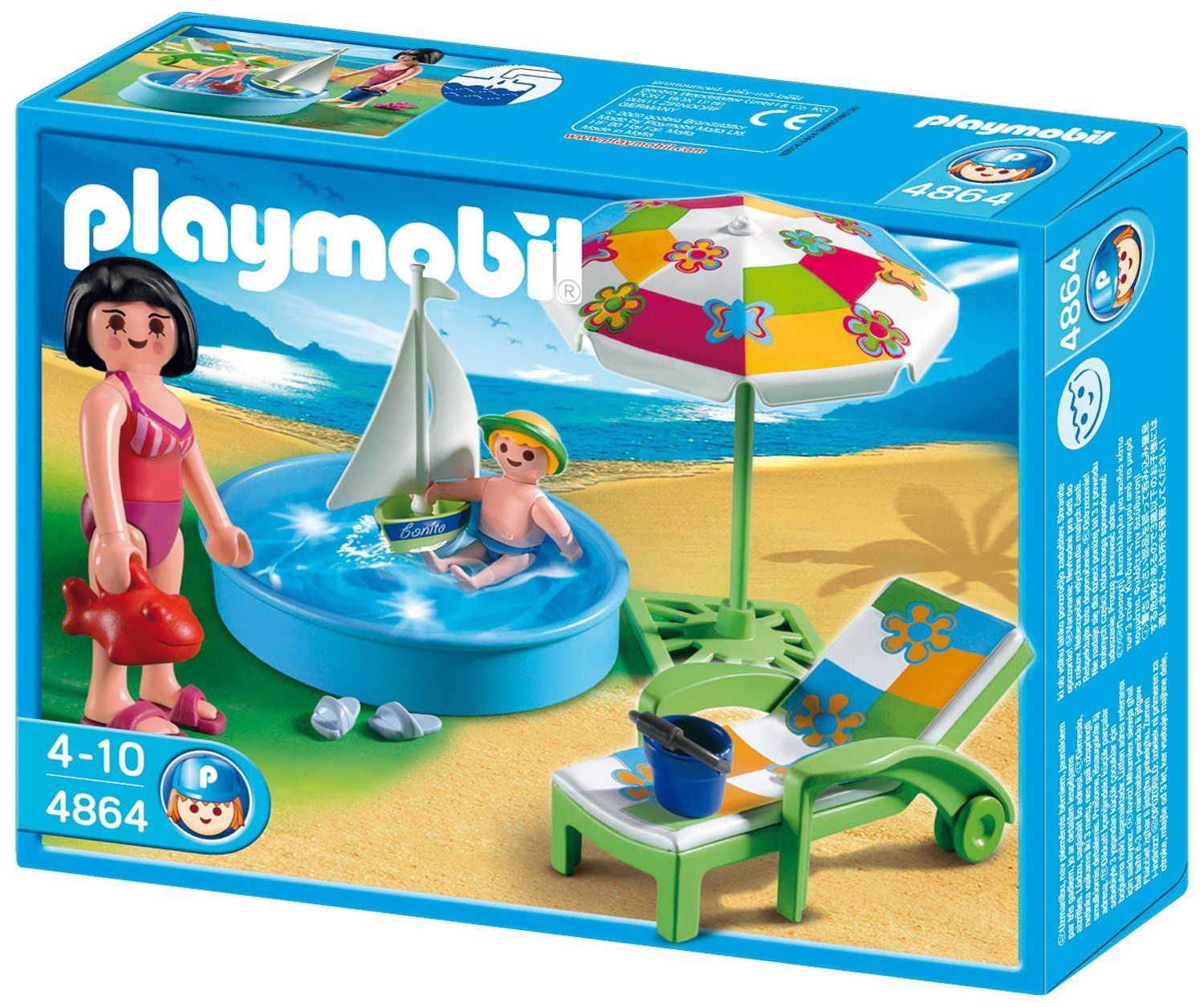playmobil 4859 family camper: amazon.co.uk: toys games | military