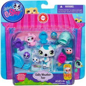 Littlest Pet Shop Chilly Weather Friends Set Walmart Com Little Pet Shop Toys Littlest Pet Shop Pet Shop
