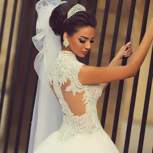 Bride To Be Open Back Beading Design To It A Very Nice