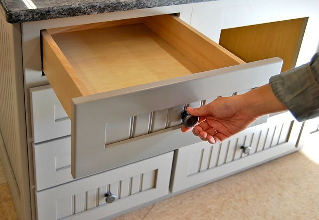 Quiet Things Down In Your Kitchen By Adding Soft Close Drawers