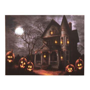 Haunted Mansion LED Canvas Art Print in 2018 Halloween Pinterest
