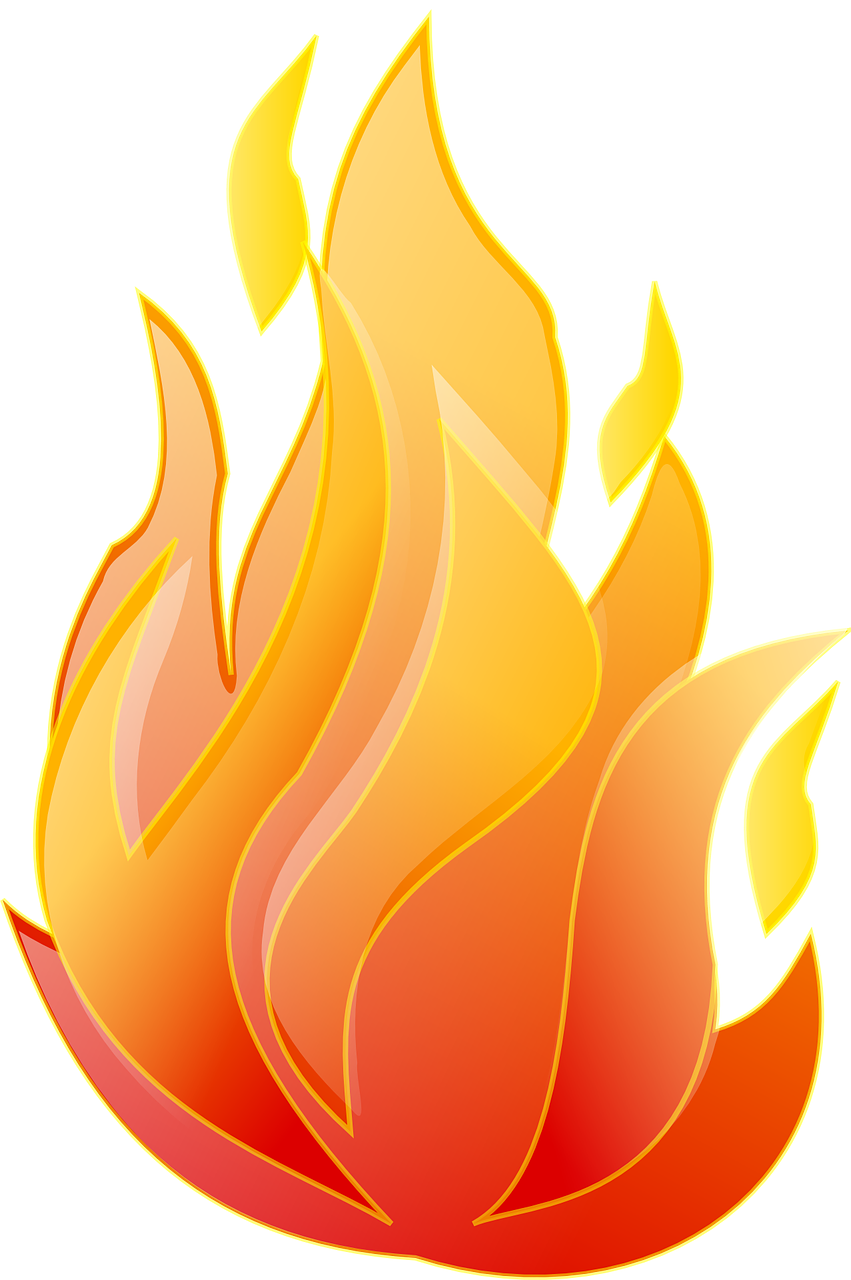 Free Image On Pixabay Fire Flame Red Heat Hot Free Clip Art Flame Art Clip Art