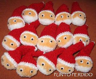 Papai Noel de Pompom  3060f26cb11