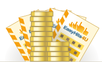 EasyHits4U.com - massive traffic exchange. 1:1 exchange ratio. Get unlimited visits to your site. It's all absolutesy FREE