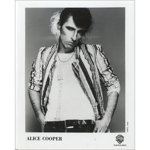 Alice Cooper Flush The Fashion 463679 Alice Cooper Shock Rock