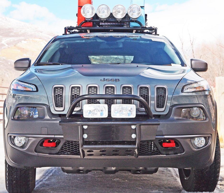 Cherokee Trailhawk Bumper Kit Jeep Cherokee 2014 Jeep
