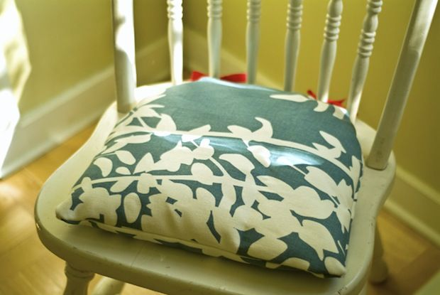 Flashback Sew Comfy Natural Cushions For Wooden Chairs