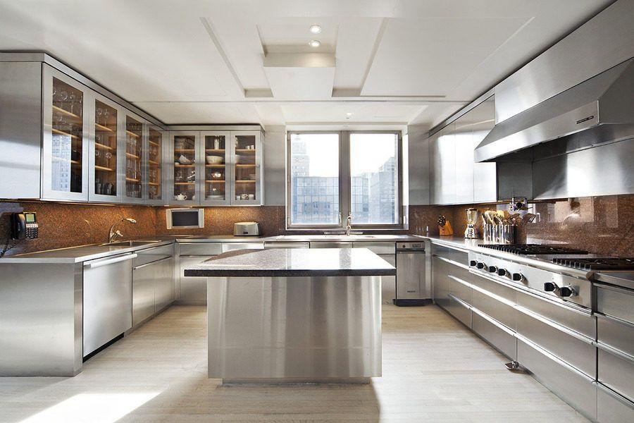 Billionaire Walmart Heiress Drops 25m On Park Ave Condo Contemporary Kitchen Kitchen Inspirations Modern Kitchen
