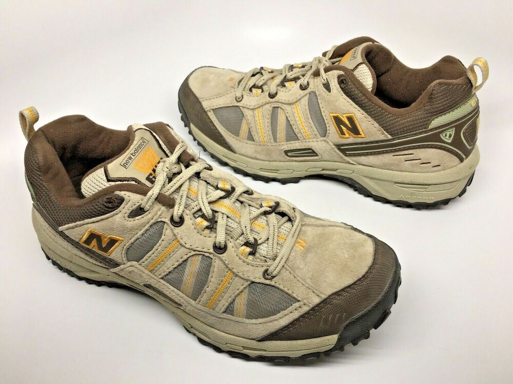 8d3b1fa08f481 NEW BALANCE 644 Mens #MW644 Country Walking Shoes Tan/Brown Suede Sz 8.5D