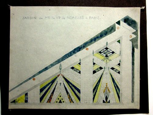 Jardin cubiste | Gabriel Guevrekian | Villa Noailles | Paris | Art ...