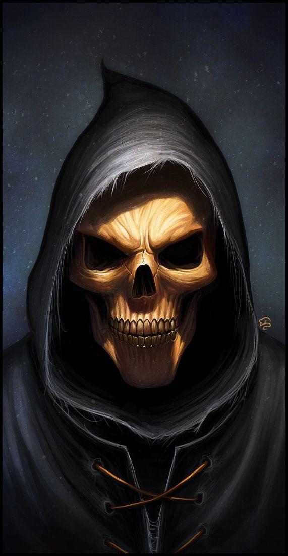 Death's smile by =TovMauzer