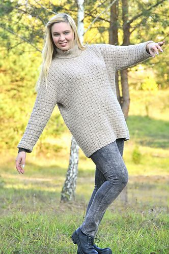 Pullover Forest Walk free pattern