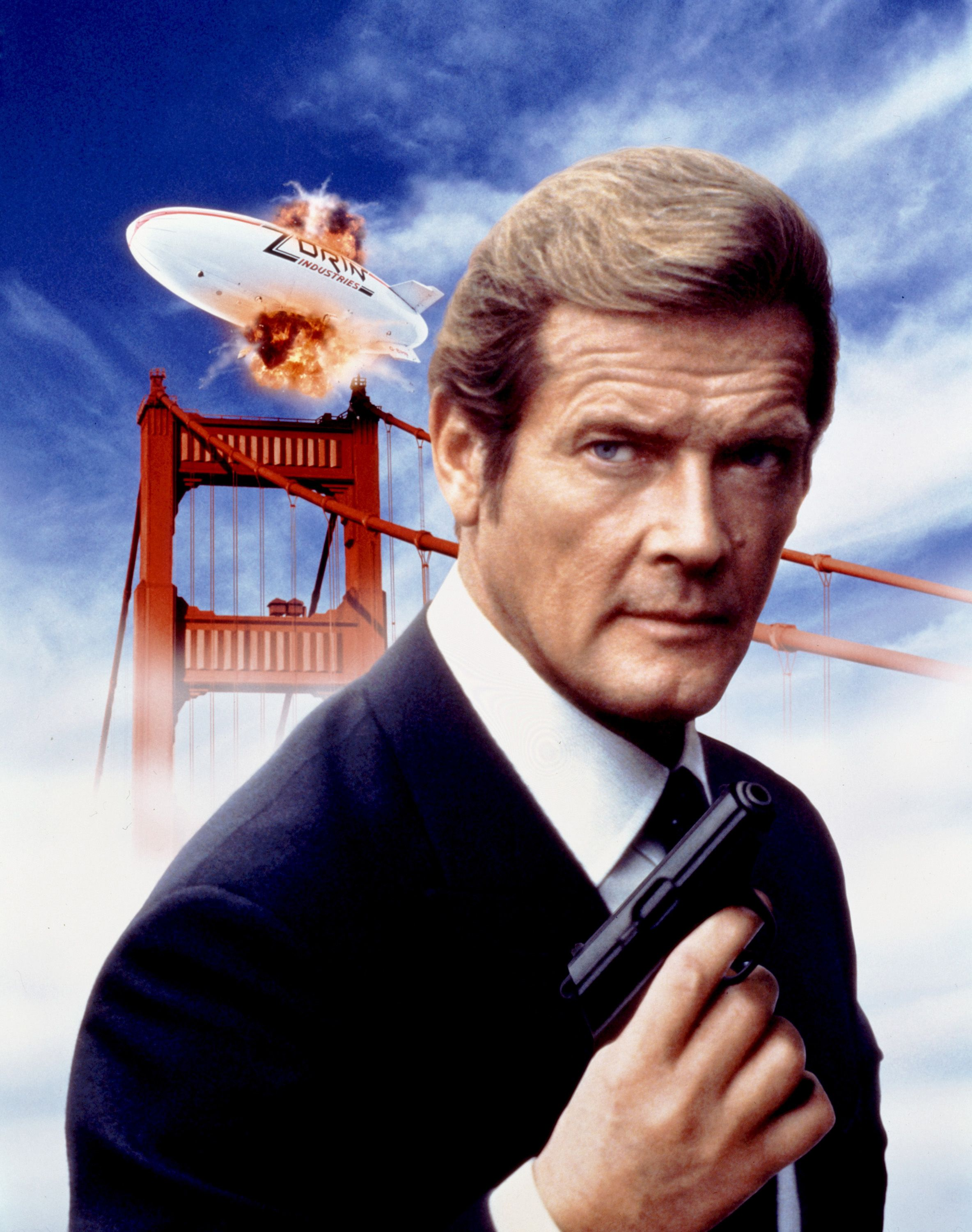A View To A Kill 1985 Secondary Poster Art Roger Moore Bond
