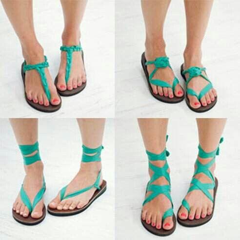 Sseko ribbon sandal