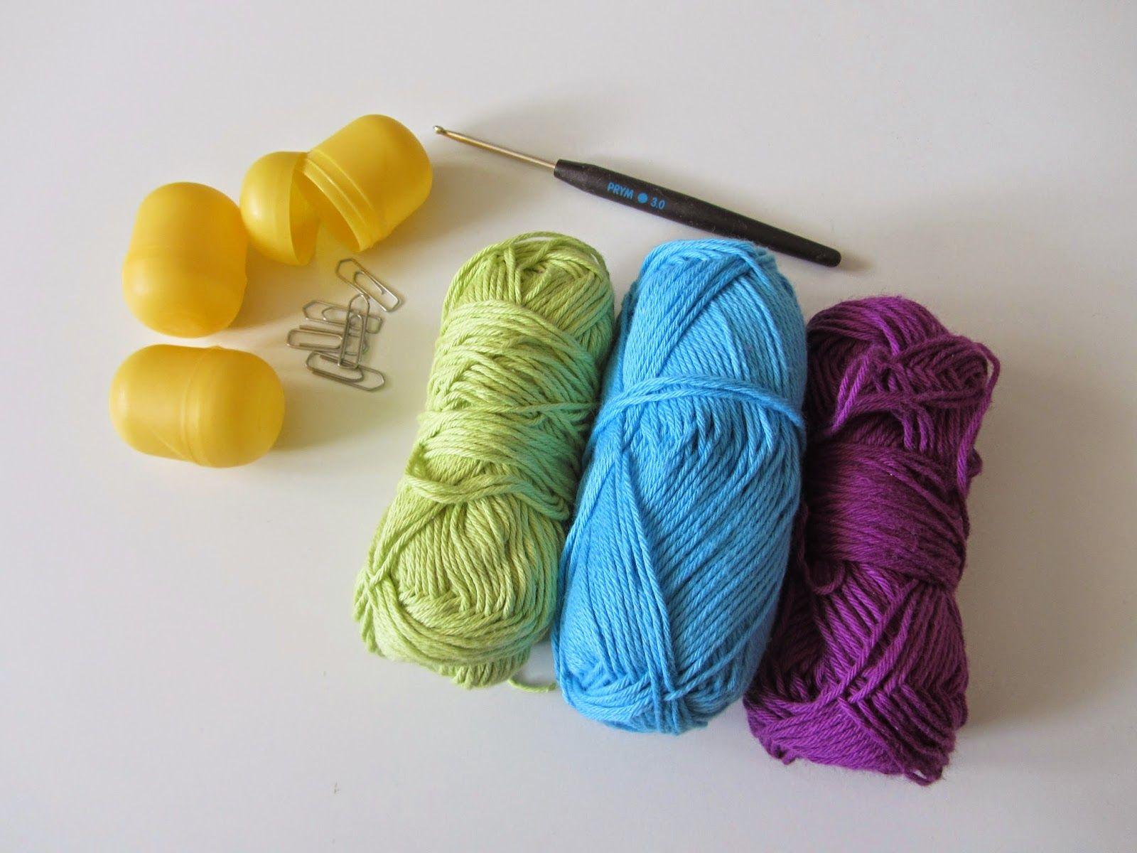 Liebenswelt Babyrassel Häkeln Upcycling ü Eier Crochet