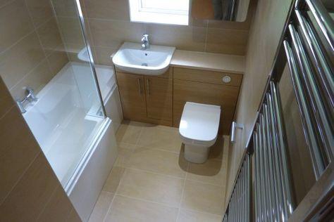 Small 3 piece bathroom | Small bathroom, Budget bathroom ...