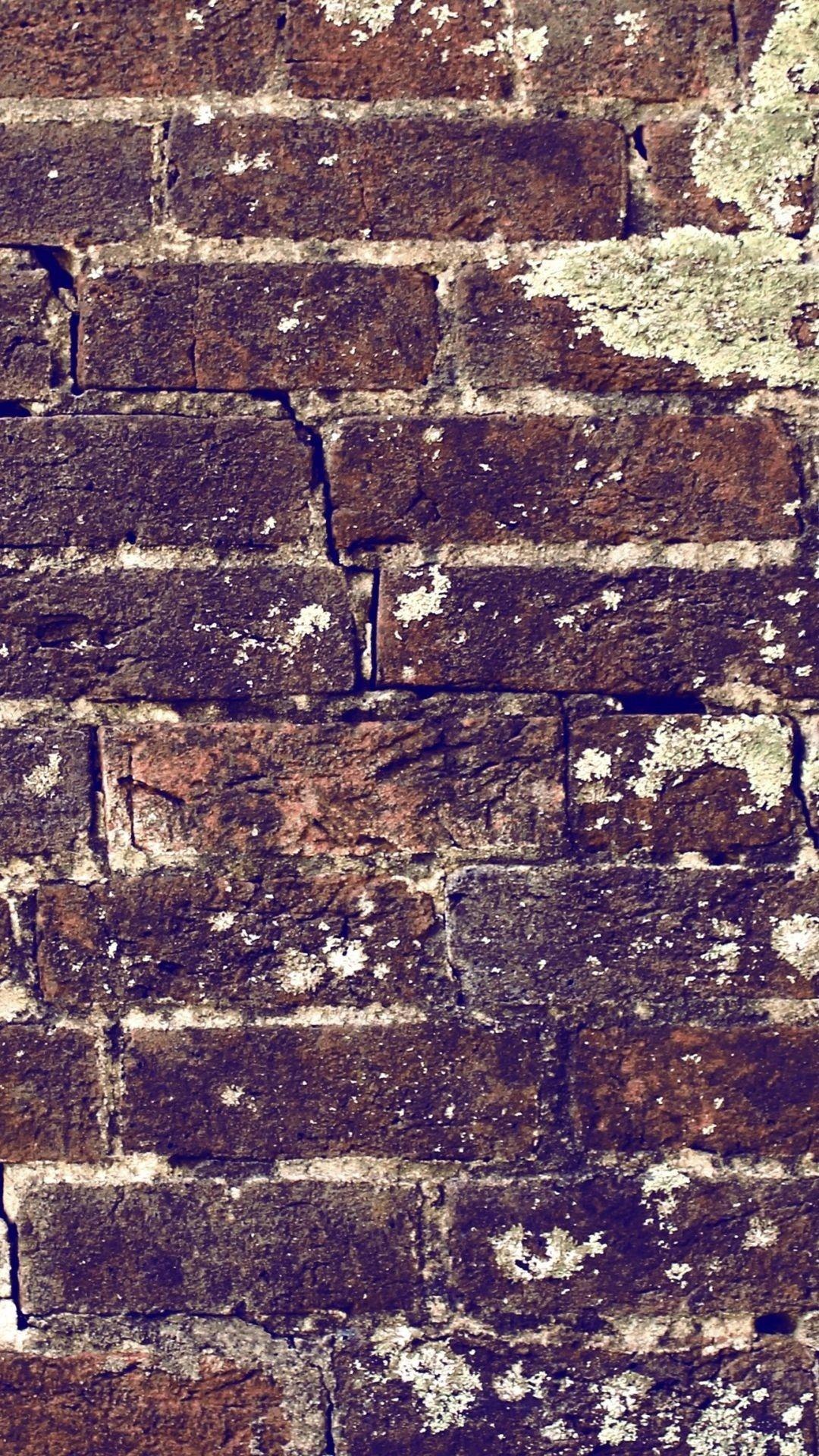 Brick Wall Texture iOS 11 iPhone X Wallpaper HD Check more