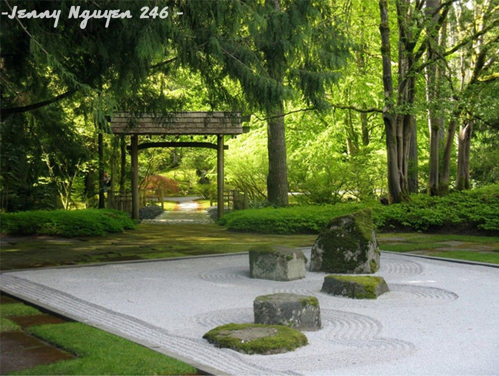 Try Designing A Japanese Zen Garden In Your Backyard To Ease Your Mind, And  Rid Your Stress While At Home.