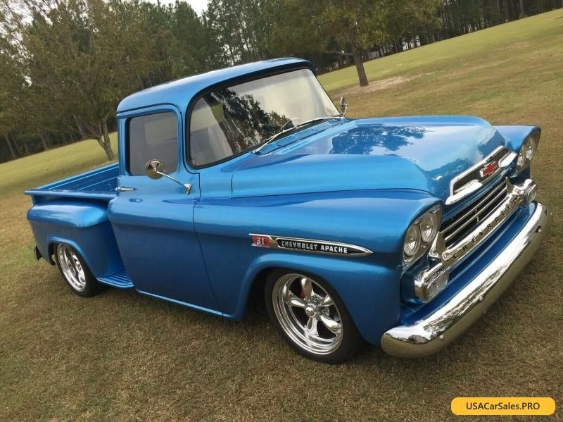 Car For Sale 1959 Chevrolet Other Pickups Apache