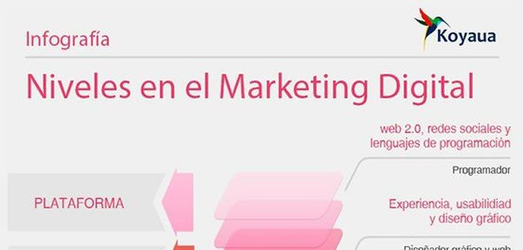 5 Niveles en el Marketing Digital