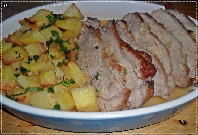 No Conforto da Minha Cozinha...: Lombo de Porco Assado no Forno