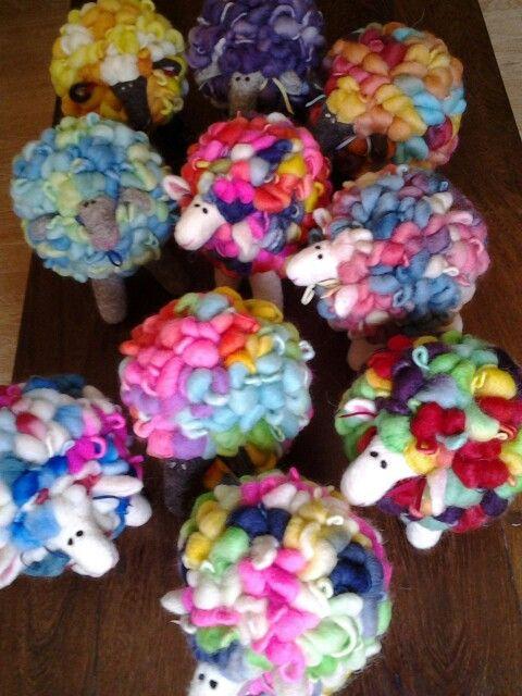 #felt #handmade #sheep #wool #byEmiPorzia #Argentina
