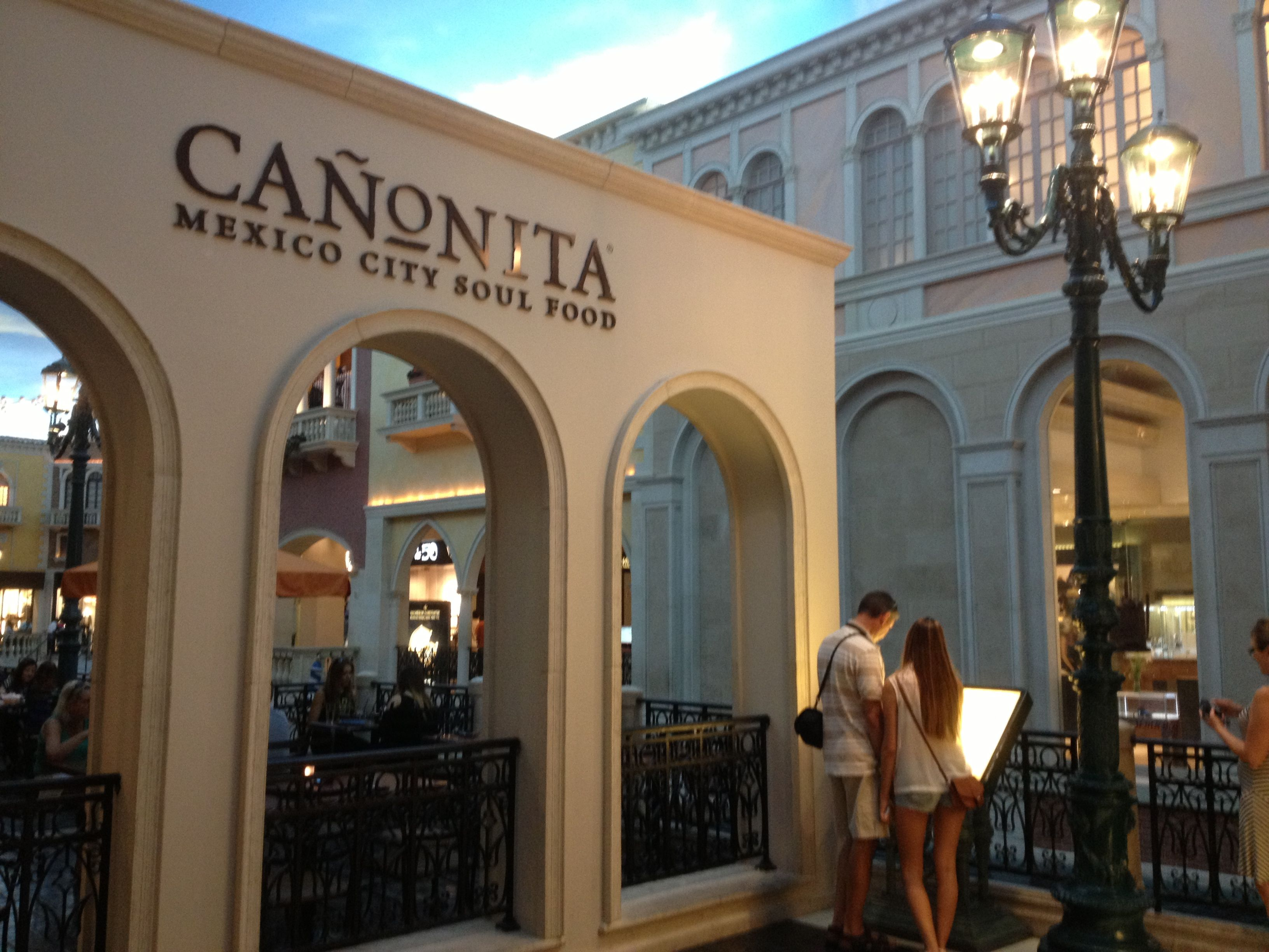 We Ate Here While In Vegas Canonita At The Venetian So Good