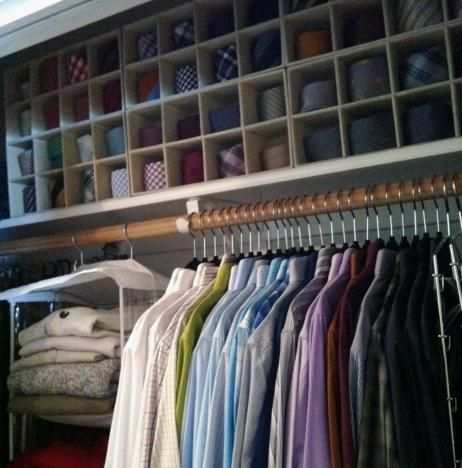 Tie Storage, Tie Organizing, Menu0027s Closet, The Container Store, Beautiful  Closets