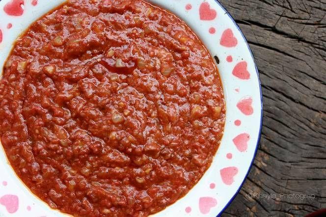 Resep Saus Bolognese Homemade Pizza Spageti Oleh Kheyla S Kitchen Resep Masakan Resep Resep Masakan