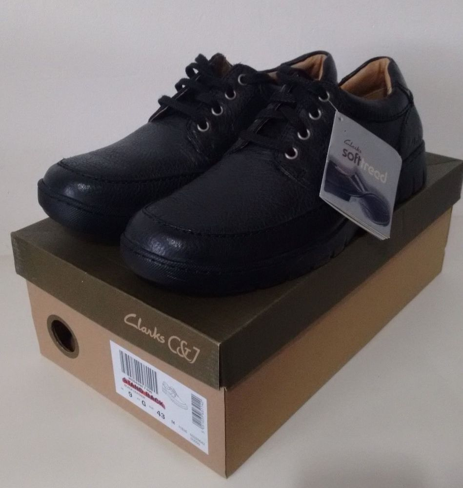 best quality for newest style 2019 wholesale price Clarks Men's Shoes UK Size 9 EU 43 Soft Tread Black Leather ...