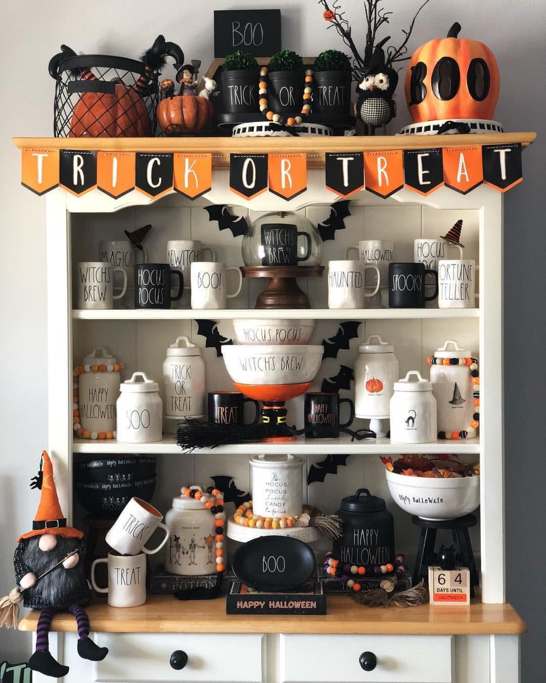 Idea by The Organized Detour on Rae Dunn halloween & fall