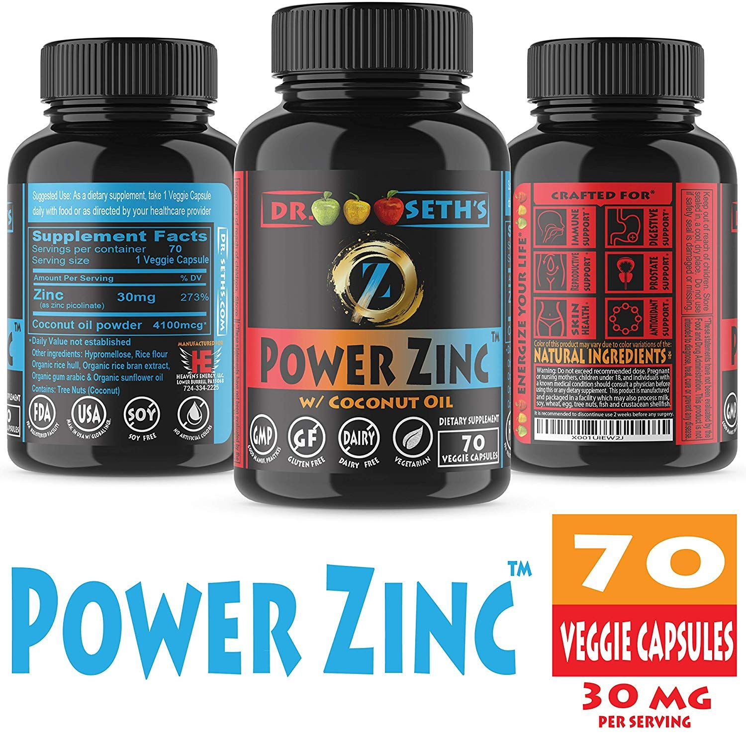 Premium Zinc Supplement In Organic Sunflower Oil And Coconut Oil You Can Get More Details By Clicking On Th Zinc Supplements Supplements Vitamin C And Zinc