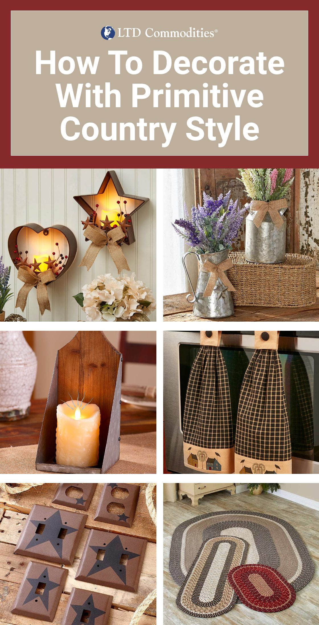Photo of How To Decorate With Primitive Country Style