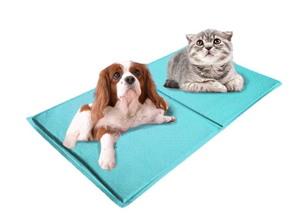Kyz Pet Dog Chilly Mat Waterproof Comfort Cool Mat Puppy Gel Cool