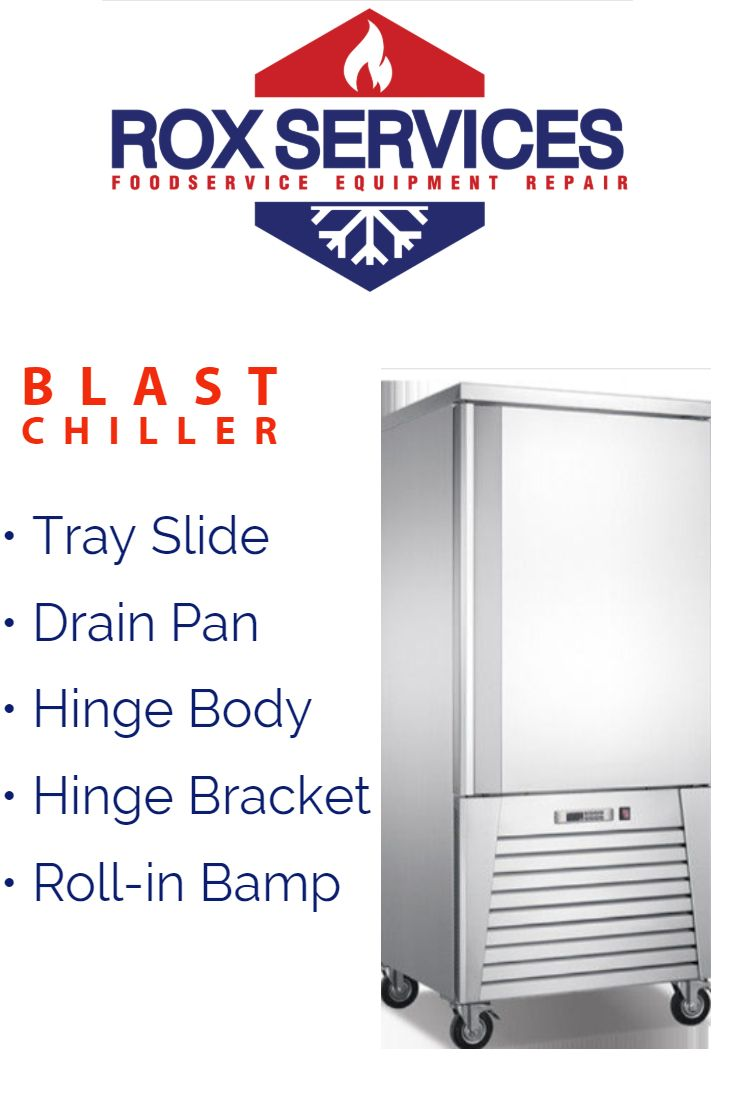 Blast Chiller Repair Appliance repair, Food safety