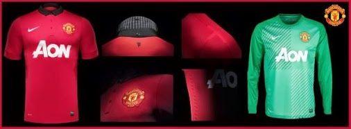 Les presento la Nueva Indumentaria Nike del Manchester United 2013-2014 ...