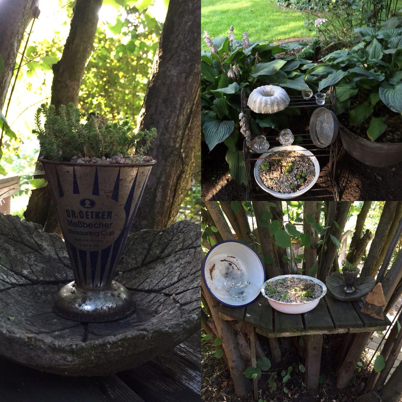 Garten Deko Aus Alt Mach Neu Garden Kitchen Appliances Garden